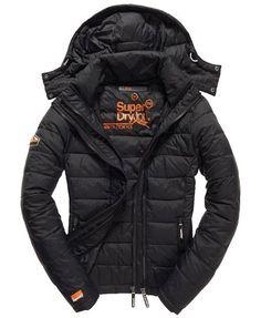 Superdry Fuji Double Zip Jacket Black