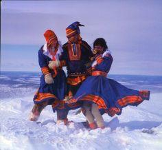 Sami people  winter frolick