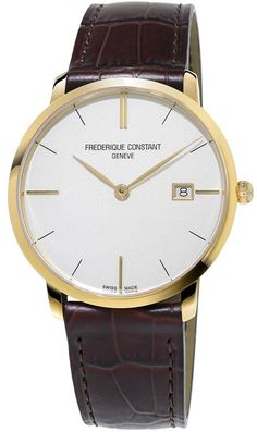 @frederiqueconst Watch Slimline #bezel-fixed #bracelet-strap-leather #brand-frederique-constant #case-material-yellow-gold #case-width-39mm #date-yes #delivery-timescale-call-us #dial-colour-white #gender-mens #luxury #movement-quartz-battery #official-stockist-for-frederique-constant-watches #packaging-frederique-constant-watch-packaging #style-dress #subcat-slim-line #supplier-model-no-fc-220v5s5 #warranty-frederique-constant-official-2-year-guarantee #water-resistant-30m