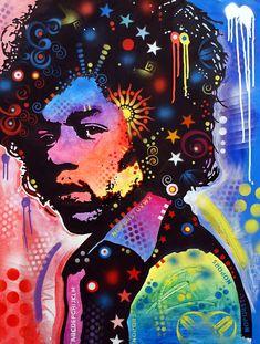 Jimi Hendrix Painting - Jimi Hendrix by Dean Russo