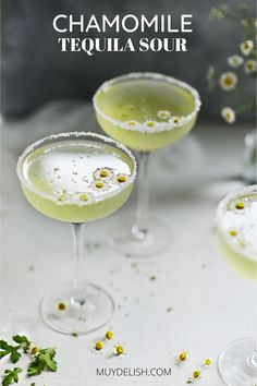 he Chamomile Tequila Sour is a MUST have delicious cocktail ! You'll enjoy this refreshing cocktail that's sure to impress your guests. Sour Cocktail, Cocktail Recipes, Mexican Cocktails, Refreshing Cocktails, Serious Eats, Alcohol Recipes, Fresh Lime Juice, Home Recipes