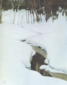 """art-is-art-is-art: """"Creek, Ivan Bilibin """""""