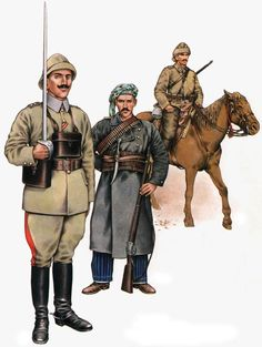 Turkish Army World War One > The Ottoman Army in World War One - uniforms, strength, organization. At the start of November 1914 Ottoman Empire joined World War One versus the Allies.