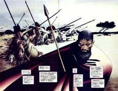 300 by Frank Miller Image Comics, Dc Comics, Frank Miller Art, Frank Miller Comics, Wally West, Luke Cage, Jack Kirby, Ghost Rider, Nightwing