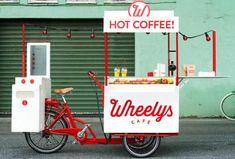 Foto: El último invento sueco: una cafetería sobre ruedas para luchar contra Starbucks