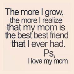 I miss my Mom.