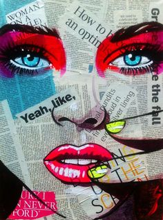 paintings on newsprint - Google Search