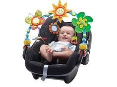 There is nothing worse that being stuck on a long car ride with a screaming baby that just doesn't want to be in their car seat! ThisTiny Love Take-Along Archis awesome because it can not only keep your kid entertained for a long car ride, but it's also SUPER versatile! It can attach to infant seats, convertible car seats, strollers, cribs, etc. Reviewers love that it's bendable and can be adjusted to stay in the perfect position to entertain their babies.