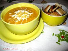Supă cremă de legume Supe, Pudding, Desserts, Food, Tailgate Desserts, Deserts, Custard Pudding, Essen, Puddings