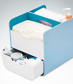 Diaper Caddy...to organize all of babies essentials.