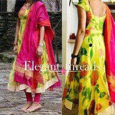 Pls send me the price Salwar Designs, Kurti Neck Designs, Dress Neck Designs, Kurta Designs Women, Kurti Designs Party Wear, Blouse Designs, Kalamkari Dresses, Ikkat Dresses, Mode Bollywood