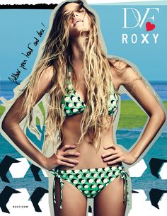 #DVFlovesROXY SHOP 3/7  Summmerrr perfection  Hair bathin suit everythingg