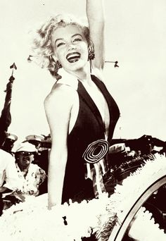 Marilyn Monroe as Grand Marshall for the Miss America Parade