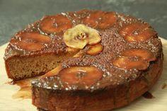 Mareli se onderstebo appel-en-kaneelkoek South African Dishes, South African Recipes, Good Mood, Muffin, Cakes, Breakfast, Sweet, Desserts, Food
