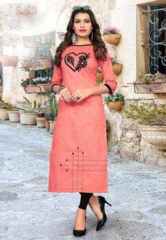 Churidar Designs, Kurta Designs Women, Kurti Designs Party Wear, Blouse Neck Designs, Neck Designs For Suits, Sleeves Designs For Dresses, Khadi Kurti, Mirror Work Dress, Salwar Pattern