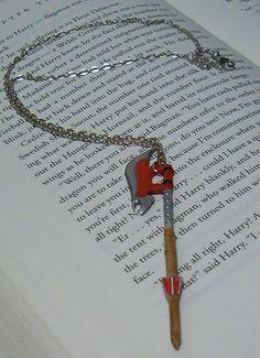 Scythe Necklace  Buffy the Vampire Slayer by Jsebold87 on Etsy, $12.99