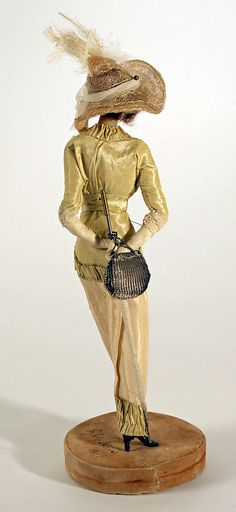 Doll  Lafitte Desirat  (French)    Date:      1909–14  Culture:      French  Medium:      wax  Dimensions:      [no dimensions available]  Credit Line:      Gift of Mrs. Walter R. Lehmann in memory of Mr. Walter R. Lehman, 1972