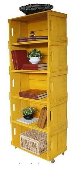Awesome way to reuse wooden crates