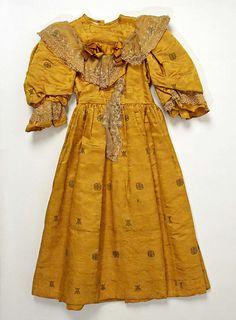 Girl's Dress 1890s The Metropolitan Museum of Art