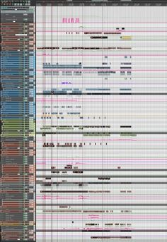 what a Tycho song looks like via @Glen Robertson