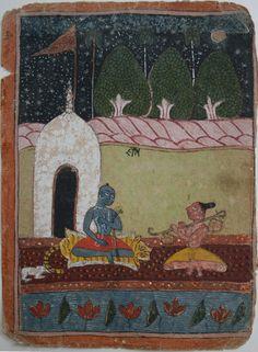 Kedar Ragini, Marwar India ca. 1650