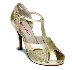 Mod. Marisa plateau (01) by Rosso Latino #RossoLatino #dance #shoes #danceshoes Visit: www.rossolatino.com