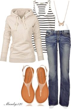 """Weekend"" by mandys120 ❤ liked on Polyvore"