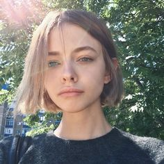 make the short hair look rock. How To Cut Your Own Hair, Cut My Hair, New Hair, Your Hair, Hair Inspo, Hair Inspiration, Short Hair Cuts, Short Hair Styles, Grunge Hair