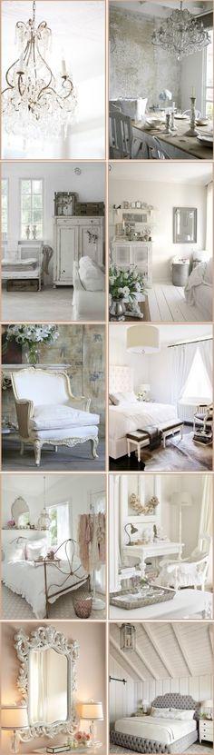 Los clásicos siempre vuelven y es que el blanco nunca ha pasado de moda. Al ser un color neutro tiene mucho juego a la hora de combinar colores. Si quieres lograr un ambiente cálido y un poco román...