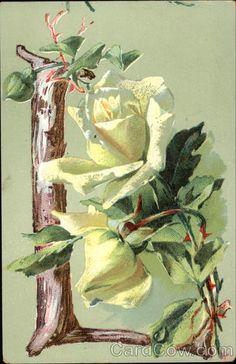 """Letter """"L"""" with Flowers"""