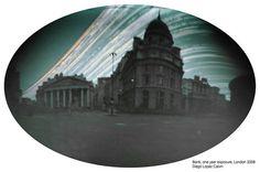 Six months solargraphy in Bank, London 2008, UK.  #solarigrafia #solargraphy #pinholephotography #fotografiaestenopeica #pinhole #estenopeica #longexposure #largaexposicion #london #visualart #solargraph #bank #G8