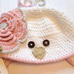 Crochet Baby Bird Hat