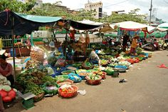 Street market #flickr #vietnam #saigon