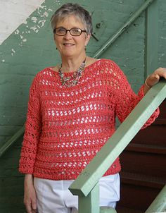 Katy Did It Pullover by Cathy Montoya….pretty summer top!