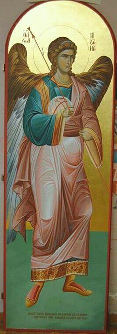 Byzantine Icons, Archangel Michael, Religious Icons, Catholic Art, Angels And Demons, Orthodox Icons, Christian Art, Cherub, Christianity