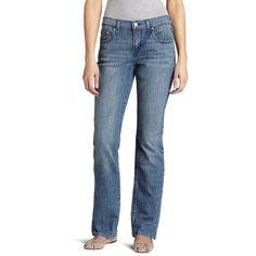 Levi's Womens 505 0147 Medium Wash Straight Leg Denim Jeans Size 14