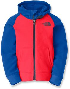 The North Face Male Glacier Full-Zip Fleece Hoodie - Toddler Boys'