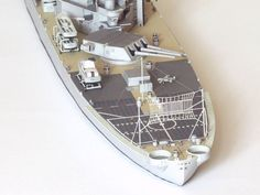 112 USS Iowa US Navy Iowa-class battleship Paper Model PDF File