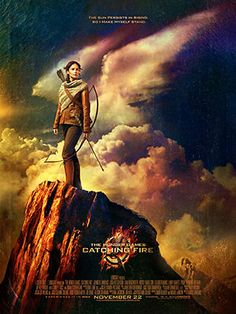 'The Hunger Games: Catching Fire' Poster: Katniss Takes a Stand - Still have to see it on the big screen even if the first one was a let-down...