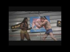 Interracial Mixed Wrestling Strong Woman  http://store.steelkittens.com/stream/show-streaming.asp?ItemID=3579 Interracial Mixed Wrestling Big Woman. Strong Bodybuilder Afrika. Domination submission mixed wrestling, scissors, crushing slams.  See great mixed wrestling visit Steel Kittens Productions.