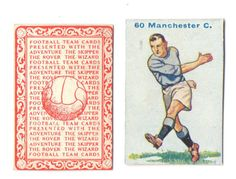 FOOTBALL PICTURE CARD 60 ISSUED BY  DC THOMPSON SHOWING MANCHESTER CITY c1934 ie.picclick.com