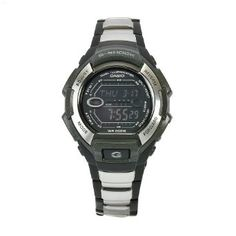 Casio Mens G800BXD-1 G-Shock Black-Silver Digital Dial Watch
