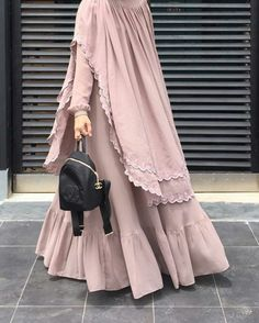 hijab abaya My business , Muslim Women Fashion, Islamic Fashion, Abaya Fashion, Fashion Dresses, Ideas Hijab, Moslem Fashion, Mode Abaya, Muslim Dress, Hijab Dress
