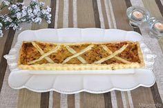 Torta salata con porri e pancetta, scopri la ricetta:  http://www.misya.info/2014/04/01/torta-pasqualina.htm