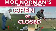 Moe Norman was a genius. His genius came from his intuitive Single Plane Golf Swing. If you are a Single Planer, you should take nothing he did for granted including the way he placed his feet. Moe aligned his feet naturally, in a radius based on the arc of the club. Similar to Ben Hogan [...] The post The Genius of Moe Norman's Stance appeared first on FOGOLF. Golf Stance, Norman, Plane, Club, Aircraft, Airplanes, Airplane