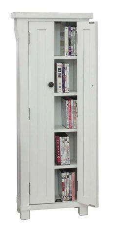 hampton white dvd cd storage unit cddvd cabinets living room