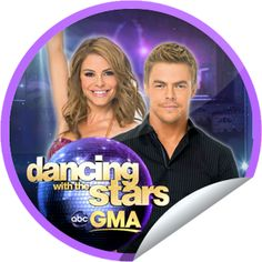 DWTS on GMA on May 16! Sticker | GetGlue
