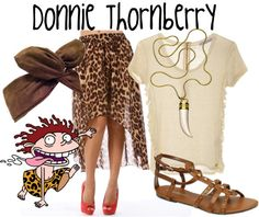 """""""Donnie Thornberry - The Wild Thornberrys"""" by lilyelizajane on Polyvore"""