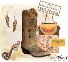 """You Give My Heart Wings"" by headwestoutfitters on Polyvore"