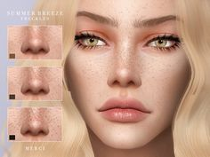 Sims 4 Mods, Sims 4 Body Mods, Sims 4 Game Mods, Sims 3, Sims Four, Sims 4 Cc Eyes, The Sims 4 Skin, 3 4 Face, The Sims 4 Cabelos